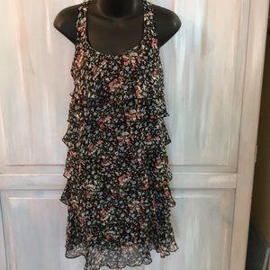 Xhilaration  Six layer ruffle dress